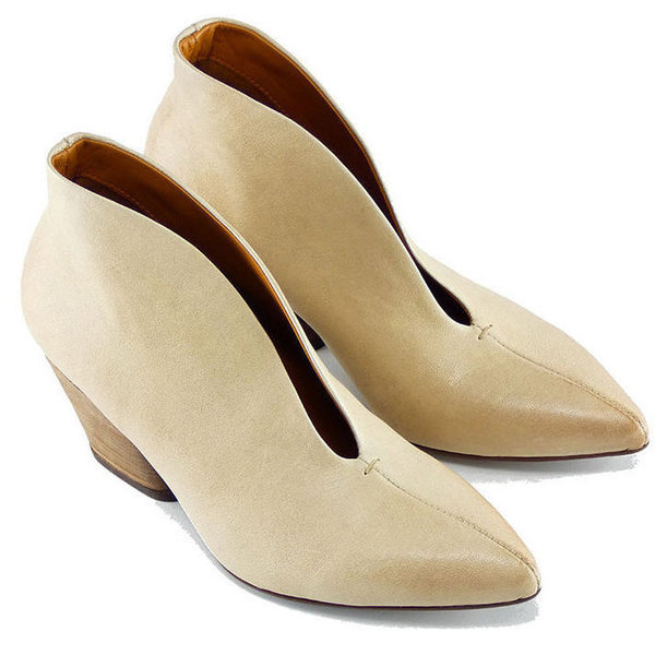 Thea Mika Kris Ankle Boots Latte