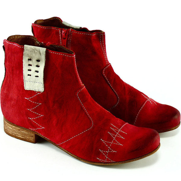 Charme Stiefelette Rot